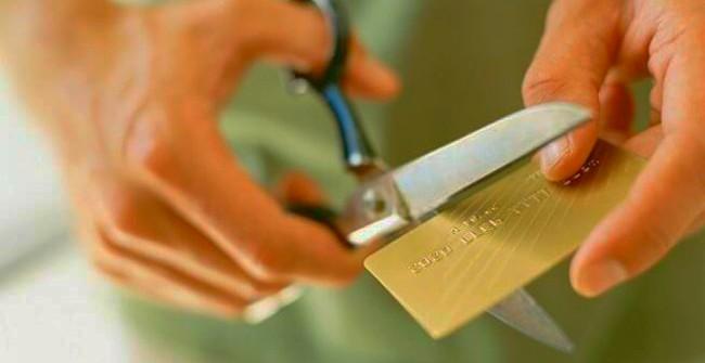 Избавляемся от карты с помощью ножниц