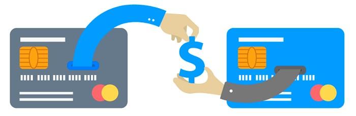 передача безналичных денег