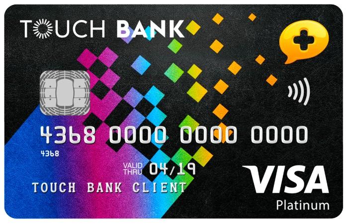 банковский продукт от touch bank