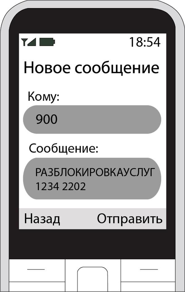 смс на 900