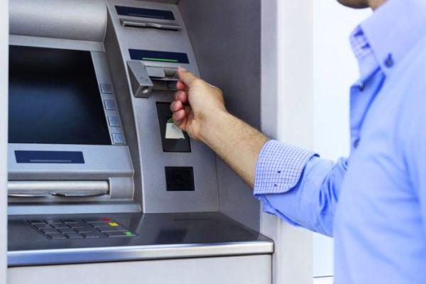 Перевод денег с помощью банкомата